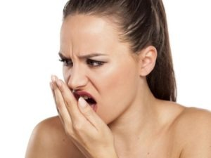 Foul mouth odors