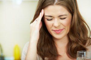 Having headaches