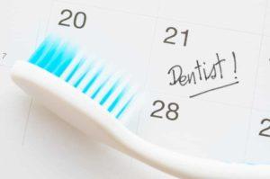 How often get dental check up?
