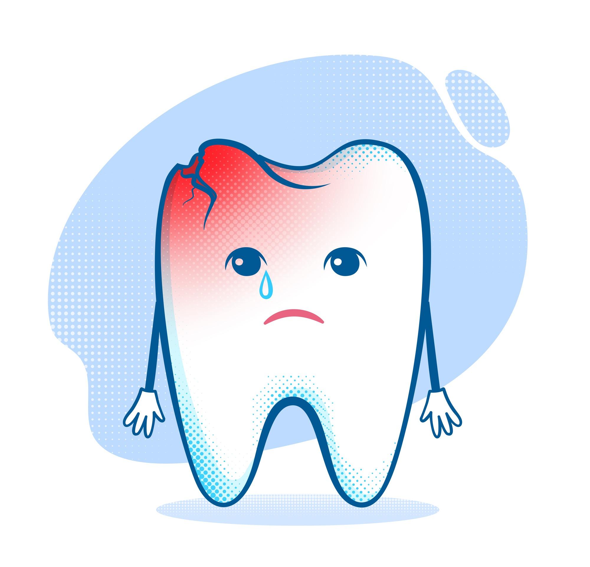 Больной зуб в картинках для детей
